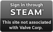 Sign in through Steam